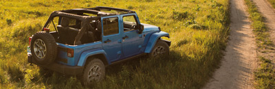 Industry-Exclusive off-road convertible23 with the ability to go anywhere, do anything